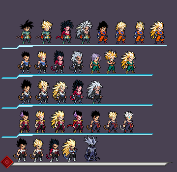 Absalon Sprites (WIP) by AngeloPat2217