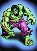 Sal Buscema Hulk - UPDATED by Simon-Williams-Art