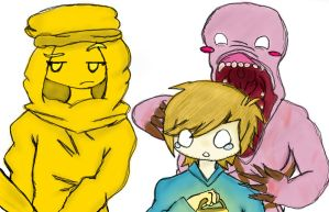 Pewdiepie and Stephano by darklinkwolf101