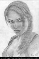 Lara Croft ''Legend'' drawing by AndRay-BF