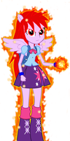 Twilight Sparkle EG Super Saiyajin God V2 by gonzalossj3