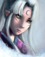 Sesshomaru's mother by JaezX