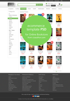 E-commerce Category Page Template PSD by cssauthor