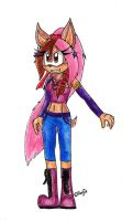 :Contest Entry: Michaelas new Outfit by Tigerraccoonbat