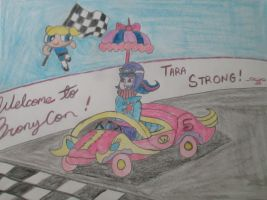 Welcome to Bronycon, Tara Strong! by Joob-Jaibot