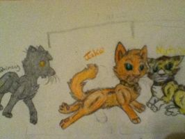 Quince, Jake, and Nutmeg by Infected-Shadows