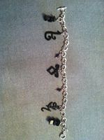 The Mortal Instruments rune Bracelet by LilithStar85