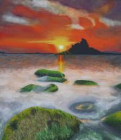 Isles of Scilly by SophieReddyArt