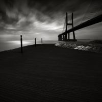 Vasco da Gama bridge Study II by pedroinacio