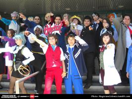 AX 2015: TEAM Ace Attorney by KatyMerry