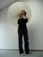 me and my umbrella VI by mimose-stock