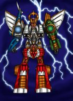 Megazord (points Commission) by blueliberty