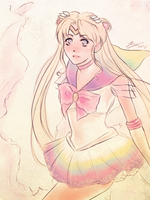 Super Sailor Moon by rivertem