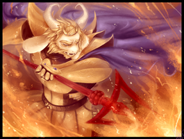 Asgore! by WalkingMelonsAAA