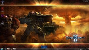 StarCraft II Theme by iDR3AM