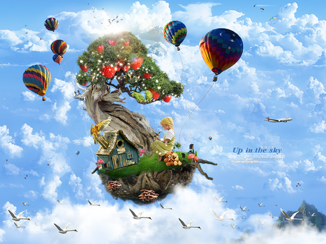 Up in the sky by koza30