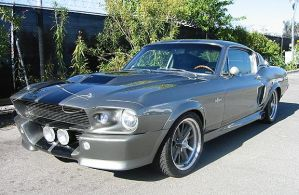 1967 Ford Mustang Shelby GT by tundradragon