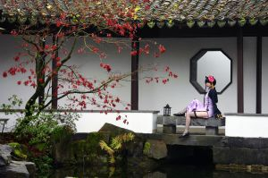 Chinese Garden by Sora-yaoi