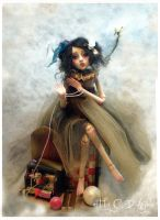 Ball jointed doll doves BB by cdlitestudio