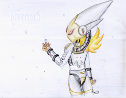 December 1: snowflake by Rhay-Robotnik