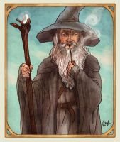 Gandalf by thecapturedspy
