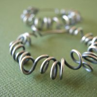 XL Curled Hoops by smabla