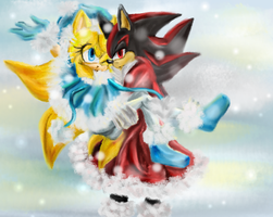 Holidays-Shadow and Maria by Can-I-steal-ur-heart