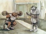 Hit the Gym by Fradga