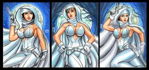 GHOST PERSONAL SKETCH CARDS by AHochrein2010