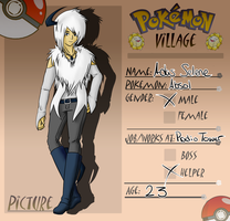 PV App-Adas the Absol by Art3misTheCactus