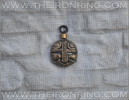 Dwarven pendant by TheIronRing