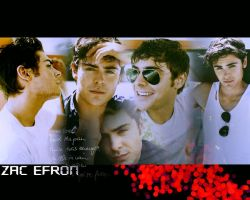 Efron wallpaper 3 by Asiulka94