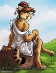 Dana the Smilodon 3 by lady-cybercat