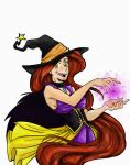 widow the rapunzel witch by Bluetalon