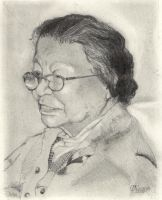 The Artist's Mother at 86 by emcorpus
