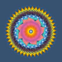 Happy Mandala by psychedelics