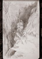 Carnet de croquis - Gustave Dore - Don Quichote by in2ni
