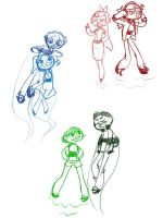 PPG and RRB by WhateverCat