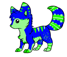 Custom Adoptable for BlueMewMaster by Wolfies--Adopts