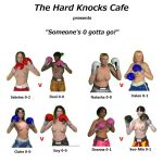 Hard Knocks Cafe Poster by PaulineG1