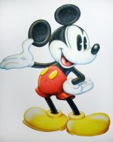 Color Pencil Mickey Mouse by stlcrazy