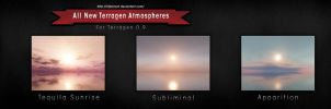 Terragen 0.9 Atmosphere Pack 1 by FuckOffffff