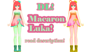 +50 Watcher's Gift Part 2 Macaron Luka DL! by DIBUJOSLOVE