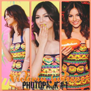 Victoria Justice Photopack #1 by RosiiEditions