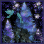 Fractal Bluebirds of Happiness by mk-kayem