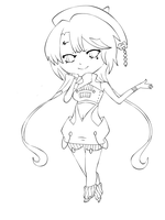 ::Chibi Ame:: by B3rryBliss