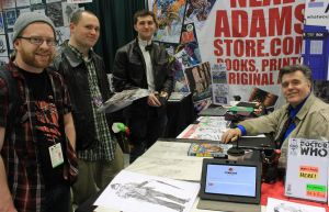 Neal Adams and Fans by LEXLOTHOR