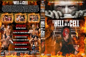 WWE Hell in a Cell 2012 DVD V2 Cover by Chirantha