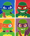 Pop Art TURTLEs by Captain--Ruffy