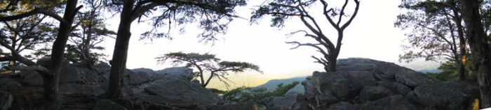 Overlook of Cheaha Mountain by StariDreams